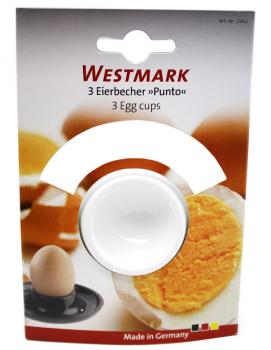 3 x Eierbecher Westmark ® NEU Made in Germany Spülmaschinengeeignet